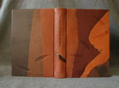 """fineblankbooks.com - Rustic Leather Feather Journal"""