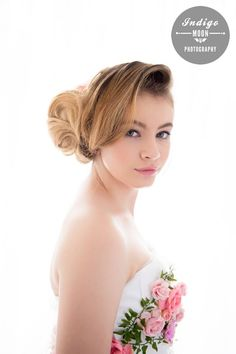 Wedding Makeup by Desiree Osterman Hair by Lynette Burlison Hairdressing Photography Indigo Moon