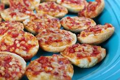 This recipe makes wonderful pizzas that are tiny enough for little hands. They can be eaten as a snack or packed into your child's bento box lunch.