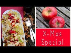 Wirsing-Salat mit Äpfeln & gerösteten Walnüssen / X-Mas-Special / LadyLandrand - YouTube