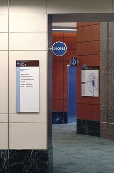 M. D. Anderson Cancer Center Wayfinding Signage