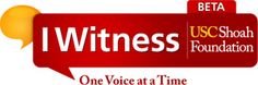 iWitness. One Voice at a Time. - gives educators and students access to search, watch, and learn from more than 1,000 video testimonies of Holocaust survivors and other witnesses.