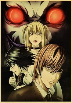Death Note Posters Retro Posters - Q027 14