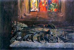Leon Wyczolkowski~The sarcophagus of Queen Jadwiga
