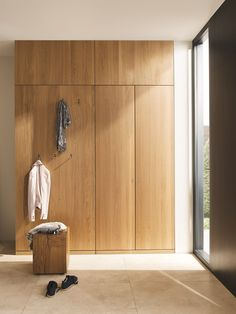 Transform your Hallway with these superb entrance hall cabinets Hallway Unit, Hallway Cabinet, Hallway Closet, Hallway Walls, Entry Hallway, Hallways, Entryway, Foyer, Hall Cupboard