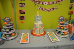 My baby's dinosaur themed 1st Birthday Party