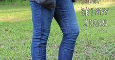 Turn those flare jeans into a pair of skinnies!