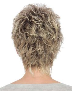 Christa by Estetica Designs - Synthetic Pure Stretch Cap Wig - The HeadShop Wigs Shaggy Short Hair, Short Spiky Hairstyles, Fringe Hairstyles, Trending Hairstyles, Layered Haircuts, Short Hairstyles For Women, Short Pixie, Short Shag, Hairstyles 2018