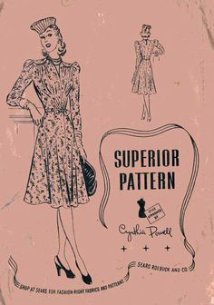 RARE Superior Pattern by MrsGoodwillHunting on Etsy, $9.00