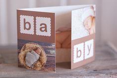 """Geburtskarte+Babykarte+""""Baby""""++von+Geburtskarten+&+Danksagungen+auf+DaWanda.com"""