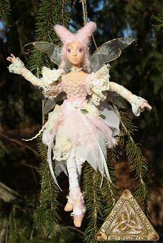 Fairy Willow / Tammy's Creations: Zara & Twill, handmade OOAK bendable Fairy Doll
