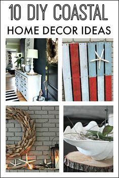 10 DIY Coastal Home Decor Ideas