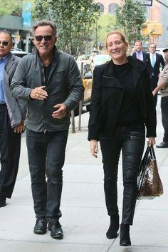 Bruce Springsteen og Patti Scialfa