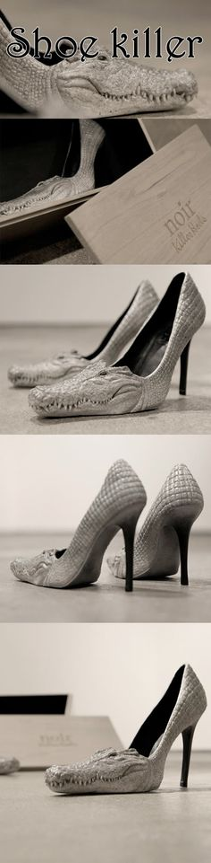 A shoe can kill all the other shoes in the world.