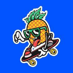 Some random graphics I made for Nick Automatic circa Dope Cartoon Art, Dope Cartoons, Cartoon Design, Art Sketches, Art Drawings, Character Art, Character Design, Graffiti Doodles, Graffiti Characters