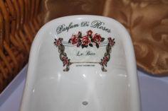Victor Vaissier Parf. Enesco France Ceramic Mini Baignoire Roses Bath Soap Dish  in Home, Furniture & DIY, Bath, Soap Dishes & Dispensers   eBay!