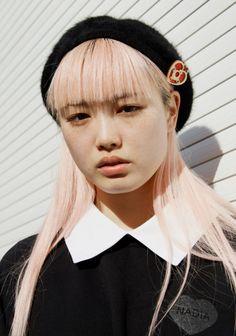 "bienenkiste: "" Fernanda Hin Lin Ly photographed by James Nelson "" Asian Fashion, Fashion Photo, Fashion Models, Quirky Girl, Candy Hair, Pink Instagram, Pastel Grunge, Australian Models, Princess Bubblegum"