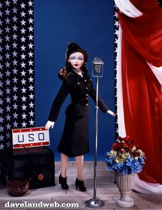 Gene Marshall USO,  my daughter bought me this doll, she is gorgeous