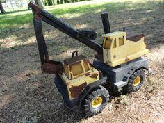 Vintage Excavator Tonka Truck