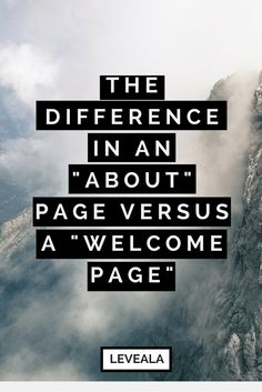 What should be the differences in your -about page- versus a -home- or -welcome- page- Personal Developmental Quotes Content Marketing, Social Media Marketing, Development Quotes, Personal Development, Product Page, Online Entrepreneur, Business Tips, Business Website, Blog Tips