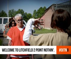 Same Litchfield, different day. #OITNB