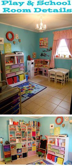 Preschool Play & School Room Reveal with Details