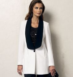 V8958 | Misses' Vest and Jacket | Jackets/Vests | Vogue Patterns