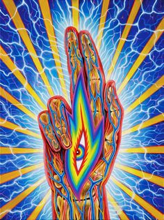 """Life is your ultimate artwork; make it a sacred offering."" —Alex Grey, ""Art Psalms"" page Psychedelic Art, Alex Gray Art, Tenacious D, Psy Art, Spirited Art, Visionary Art, Sacred Art, Amazing Art, Cool Art"