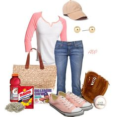 Cute baseball mom outfit until it gets hot. Sporty Outfits, Mom Outfits, Summer Outfits, Cute Outfits, Softball Mom, Baseball Mom, Warm Weather Outfits, Love Fashion, Womens Fashion