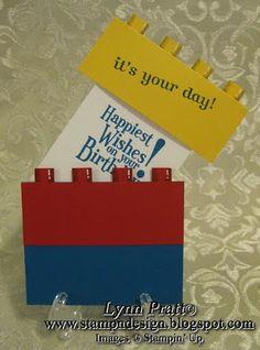 Stamp-n-Design: Lego - Duplo Birthday Card