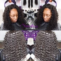 """Our Celebrity Collection Hair Is The Bomb It's Our Deep curly Indian Hair 14""""16""""18"""" 12"""" Lace Closure #http://www.jennisonbeautysupply.com/  ,#hairinspo #longhair #hairextensions #clipinhairextensions #humanhair #hairideas #hairstyles #extensions #prettyhair  #clipinhairextensions #hairextensions #longhairgoals #hairextensionsspecialist #queenbhairextensions  virgin human hair wigs/hair extensions/lace closure/clip in hair/skin weft and synthetic hair wigs,brazilian ,indian ,malaysian…"""