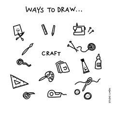 Feeling creative. ✂️✏️🖌 Word of day 33