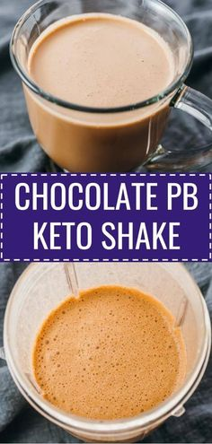 chocolate peanut butter keto shake is an easy low carb breakfast recipe! This chocolate peanut butter keto shake is an easy low carb breakfast recipe! This chocolate peanut butter keto shake is an easy low carb breakfast recipe! Smoothie Low Carb, Smoothie Vert, Breakfast Smoothies For Weight Loss, Keto Smoothie Recipes, Breakfast Smoothie Recipes, Shake Recipes, Smoothie King, Smoothie Cleanse, Keto Foods