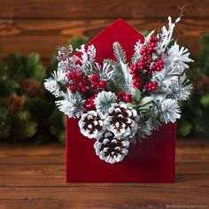 In this DIY tutorial, we will show you how to make Christmas decorations for your home. The video consists of 23 Christmas craft ideas. Christmas Tree With Gifts, Christmas Swags, Christmas Flowers, Christmas Art, Christmas Holidays, Christmas Ornaments, Christmas Tablescapes, Christmas Centerpieces, Xmas Decorations