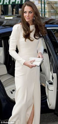 Kate Middleton-Three words always come to my mind...beautiful, elegant, classy...and Wow! (OK, so it was four-LOL)