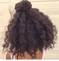 Natural Hairstyle Ninja bun with twist out Recital hair : Natural Hairstyle Ninja bun with twist out Recital hair Love Hair, Big Hair, Gorgeous Hair, Natural Hair Inspiration, Natural Hair Tips, Natural Hair Styles, Afro Textured Hair, Afro Hairstyles, Hair Hacks