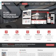 PressCore Responsive Multipurpose WordPress Theme   WordPress Theme Download