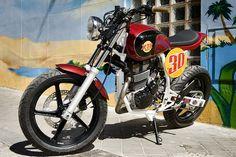 Honda Street Tracker by XTR Pepo #motorcycles #streettracker #motos | caferacerpasion.com