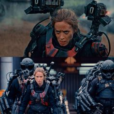 Edge of Tomorrow; What this movie really has is a perfectly balanced love line.