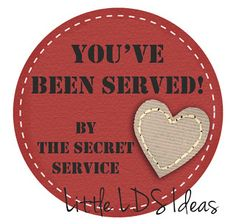 Little LDS Ideas: {Sharing Time} When I Serve Others, I Serve God