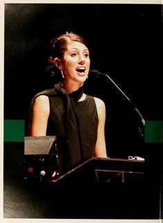Athena yearbook, 2004. Speaker at 2004 Ohio University Commencement. :: Ohio University Archives