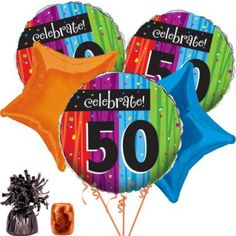 Shop for Milestone Celebrations 50th Balloon Kit and other party supplies. The most popular party Supplies and Decorations, all available at wholesale prices!