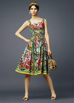 From Gucci to Versace and ending with Dolce&Gabbana, their fashion is always verybold, full of floral motifs, luxurious materials, style and sophistication. Description from coolallure.com. I searched for this on bing.com/images