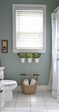 Vintage paint colors bathroom ideas (1)