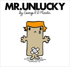 Mr. Men and Little Miss Game of Thrones characters - Mr. Theon Greyjoy