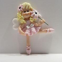 fimo topper fairy