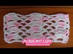 Dos chalinas con puntadas muy sencillas y vistosas   Blog a Crochet - ACrochet