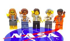 The Women of NASA Lego set will include minifigures modeled after computer scientist Margaret Hamilton, mathematician Katherine Johnson, astronaut Sally Ride, astronomer Nancy Grace Roman and astronaut Mae Jemison. Margaret Hamilton, Figurine Lego, Katherine Johnson, Hidden Figures, Action Figures, Star Wars, Lego News, Space Program, Badass Women