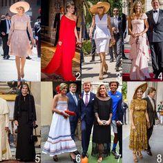 """167 Me gusta, 17 comentarios - Queen Maxima (@queen.maxima) en Instagram: """"The outfits of Queen Maxima in Italy. What is your favorite? #queenmaxima #queen #netherlands…"""""""