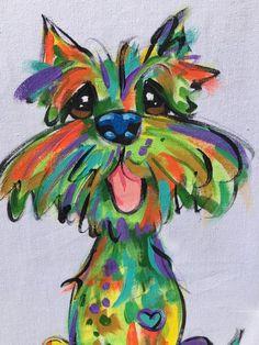 Dog Painting / Dog Canvas / Dog Art / Custom Dog / Custom Painting / Debby Carman / Canvas / Trophy / Dog by FauxPawProductions on Etsy Dog Canvas Painting, Animal Paintings, Painting & Drawing, Canvas Art, Canvas Ideas, Diy Canvas, Vogel Quilt, Custom Dog Portraits, Whimsical Art